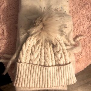 Brand new hat and scarf